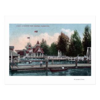 Seattle, WashingtonMadison Park Scene Postcard