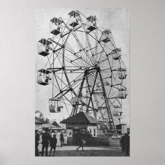 Seattle, WashingtonYukon-Pacific Expo Ferris Poster