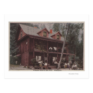 Seattle, WASummer Home at Alki Point Beach Post Cards