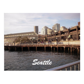 Seattle Waterfront 2009, Seattle Postcard