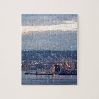 Seattle Waterfront Jigsaw Puzzle