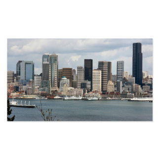 Seattle Waterfront Pack Of Standard Business Cards
