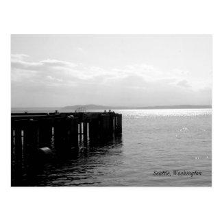 Seattle Waterfront Postcard