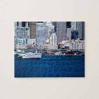 Seattle Waterfront - Small Jigsaw Puzzle