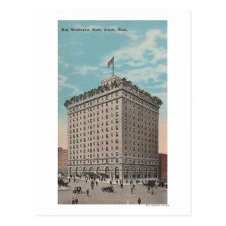 Seattle, WAView of the Washington Hotel Postcard
