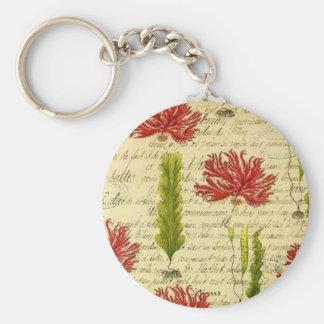 Seaweed and chorales key ring