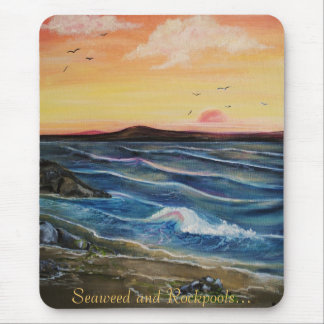 Seaweed and Rockpools.. Mouse Pad