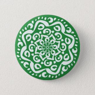 Seaweed Mandala 6 Cm Round Badge