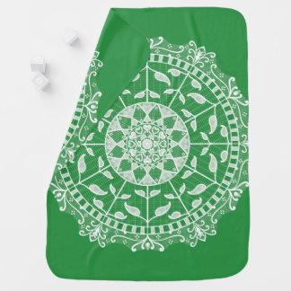 Seaweed Mandala Baby Blanket