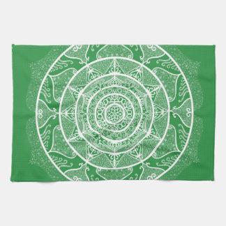 Seaweed Mandala Tea Towel