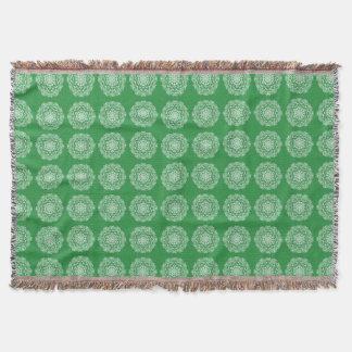 Seaweed Mandala Throw Blanket