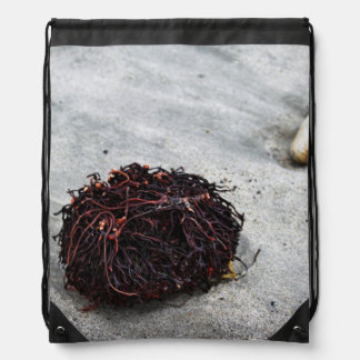 Seaweed Roots Drawstring Bag