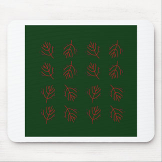Seaweeds green mouse pad