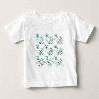 Seaweeds green on white baby T-Shirt