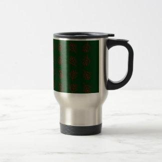 Seaweeds green travel mug