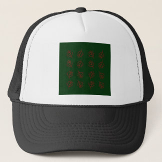 Seaweeds green trucker hat
