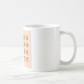 SEAWEEDS  Retro beige Coffee Mug