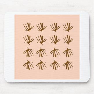 SEAWEEDS  Retro beige Mouse Pad