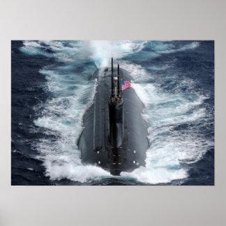 Seawolf-class submarine USS Connecticut (SSN-22) Poster