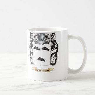 Sebastian Coat of Arms Family Crest Mug