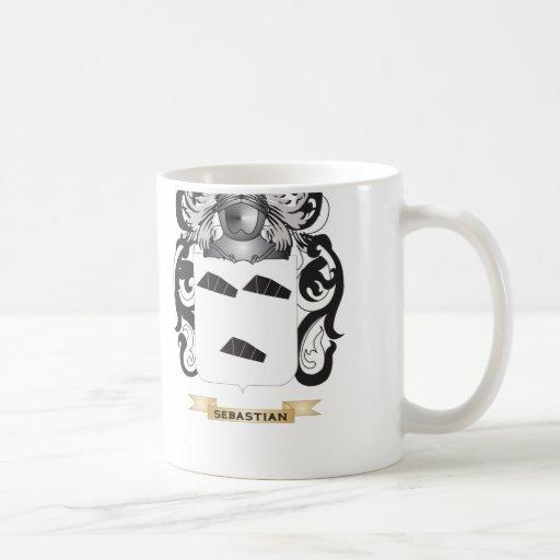 Sebastian Coat of Arms (Family Crest) Mug