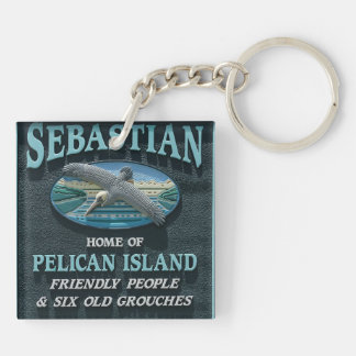 Sebastian, FL Key Ring