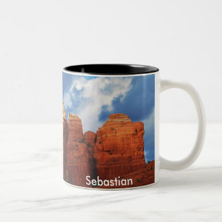 Sebastian on Coffee Pot Rock Mug