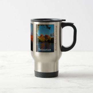 Sebastian on Red Rock Crossing Mug