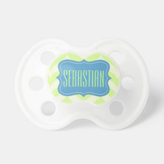 """""""Sebastian"""" Personalized Name Baby Pacifiers"""