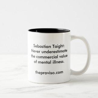 Sebastian Taight: Mental Illness Two-Tone Mug