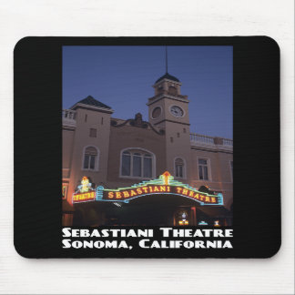 Sebastiani Theatre Mousepad