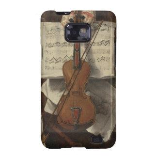 Sebastiano Lazzari Trompe - Violin and Music Notes Galaxy S2 Cases
