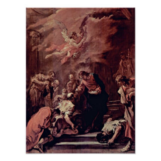 Sebastiano Ricci - Communion of the Apostles Poster