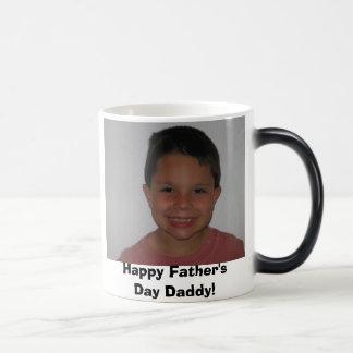 sebastiansummer07 003, Happy Father's Day Daddy! Magic Mug