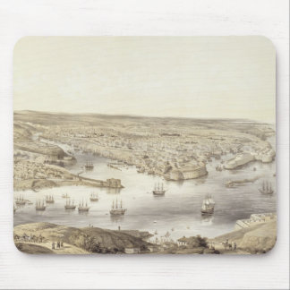 Sebastopol in All Its Glory, 1848, engraved by Day Mouse Pad