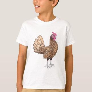 Sebright Bantam Rooster Kids T-Shirt