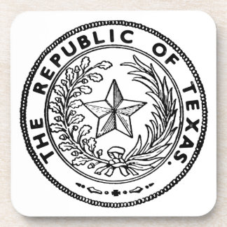 Secede Republic of Texas Coaster