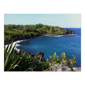 Secluded Cove in Maui, Hawaii Poster