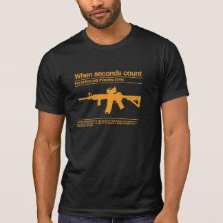 Second Amendment / AR-15 / Police T-Shirt