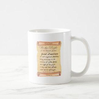 Second Amendment Basic White Mug