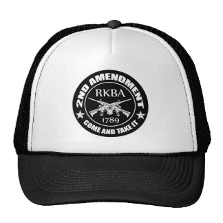 Second Amendment Come And Take It RKBA AR s Hat