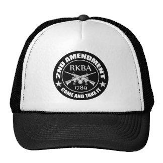 Second Amendment Come And Take It RKBA AR's Cap
