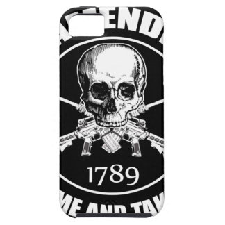 Second Amendment Come and Take It Skull and AR's Case For The iPhone 5