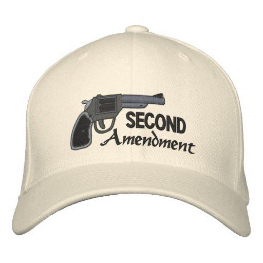 Second Amendment Embroidered Baseball Caps