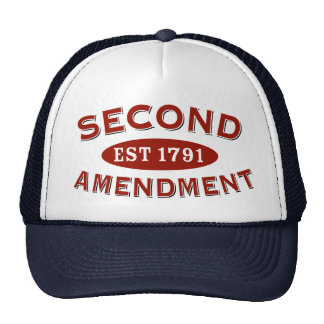 Second Amendment Est. 1791 Cap