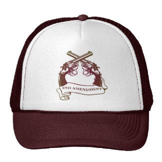 second amendment guns cap