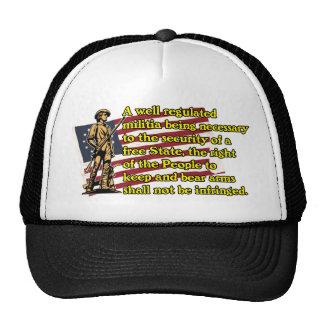 Second Amendment Trucker Hats