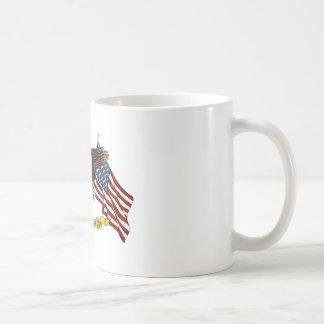 Second Amendment Liberty Eagle Basic White Mug