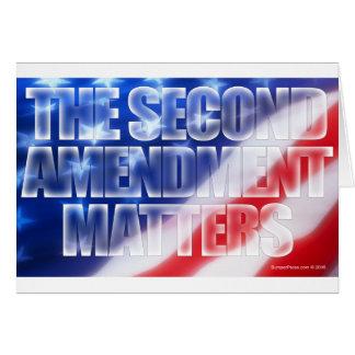 Second Amendment Matters Card