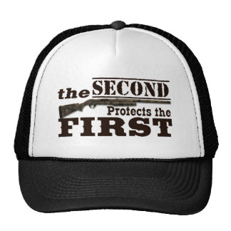 Second Amendment Protects First Amendment Cap